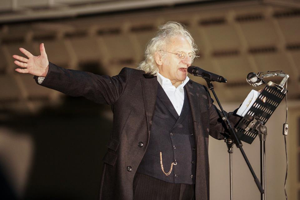 Siegfried Zielinski reciting Gastev
