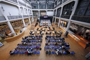 Tribunal @ ZKM, Foto: ONUK, © ZKM | Zentrum für Kunst und Medientechnologie