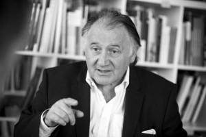 Peter Weibel, Vorstand und künstlerischer Leiter des ZKM © ZKM | Karlsruhe, 2014 Foto: Andy Ridder